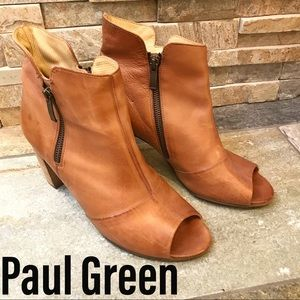 Paul Green Open Toe Bootie